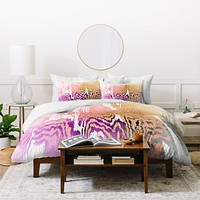Caleb Troy Earth Tone Safari Duvet Cover