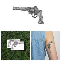Gunz 'n Roses - Temporary Tattoo (Set of 2)
