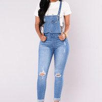 Through The Daylight Overalls - Medium