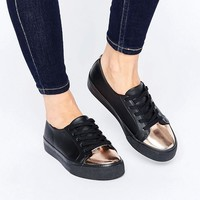 ASOS | ASOS DESTINY Wide Fit Lace Up Sneakers at ASOS
