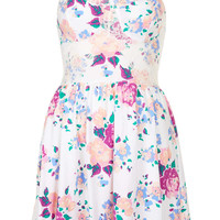 Rose Corset Tunic Dress - Topshop USA