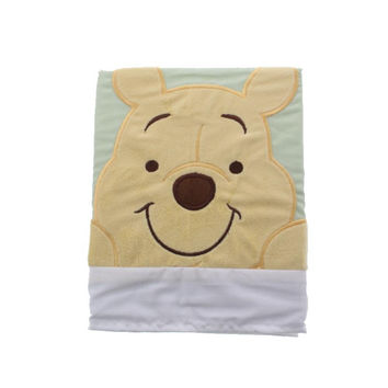 Disney Baby  Peeking Pooh Embroidered Applique Nursery Window Valance
