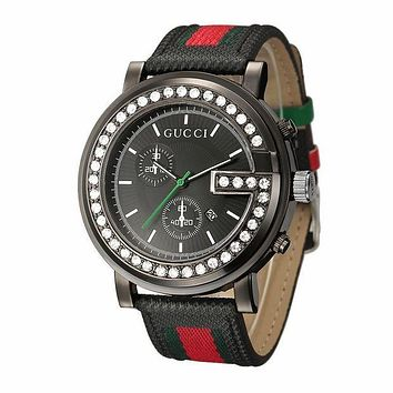 GUCCI Shiny Rhinestone Quartz Watches Wrist Watch For Black Friday