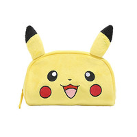 Pokemon Pikachu Plush Makeup Bag