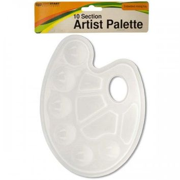 10 Section Artist Paint Palette (pack of 20)