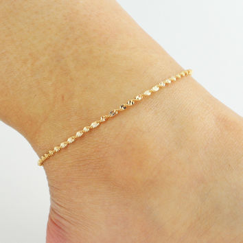 Sexy New Arrival Jewelry Shiny Ladies Cute Gift Hot Sale Stylish Korean Lovely Anklet [6464856193]