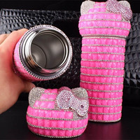 Hello Kitty Thermos Bottle with Systemic Diamond-5 colours