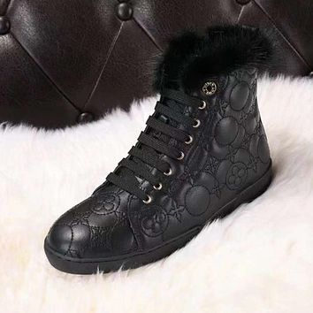 Fashion Online Lv Louis Vuitton Women Casual Boots Shoes