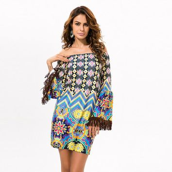 Thai flirty sudani dress