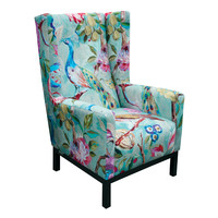 Willi Peacock Occasional Chair | CeladonThe Block Shop - Channel 9