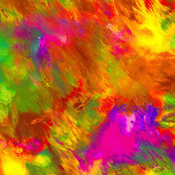Wall Art - No. 239B - Giclee Print - Acrylics - Multiple Colors - Original Art - Abstract - Varied Size - One Only