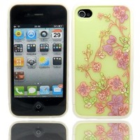 Ero Fancy Pattern Hard Shell Case for iPhone 4/4S