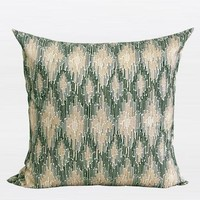 """Green European Classical Pattern Embroidered Pillow 20""""X20"""""""