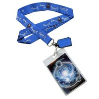 Doctor Who Wibbly Wobbly Lanyard with 2D Charm