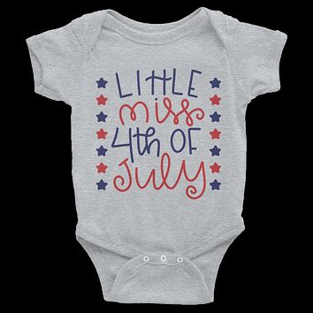 Little Miss 4th Of July Onesuit