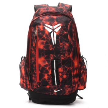 Basketball double shoulder bag kobe sports travel bag Red