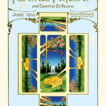 American Perfumer and Essential Oil Review, June 1910 20x30 poster