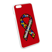Autism Awareness Snap On Hard Protective Case for Apple iPhone 6