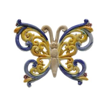 Vietri Butterfly Wall Decor (Multiple Designs)