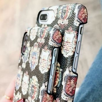 Dg Dolce & Gabbana Iphone6 Leather High End Iphone 8x7plus Luxury Mobile Phone Case