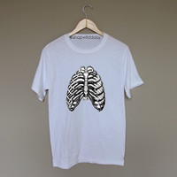 Skeleton Ribcage - White