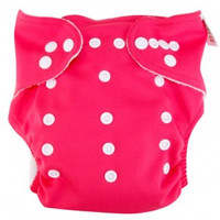 Fuchsia Pink Cloth Diaper