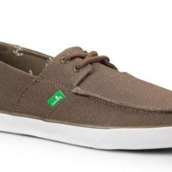 ONETOW Sanuk Offshore Brindle Slip-On Shoes
