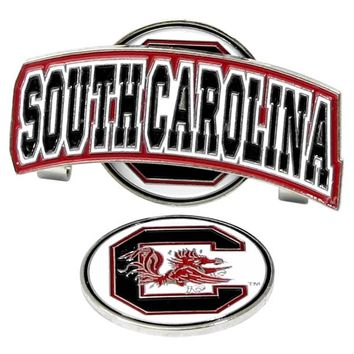 South Carolina Gamecocks Slider Hat Clip