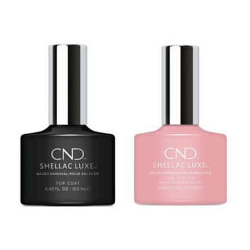 CND - Shellac Luxe - Top Coat & Forever Yours 0.42 oz - #321