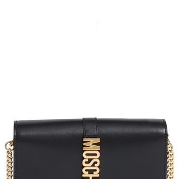 Moschino Leather Wallet on a Chain | Nordstrom