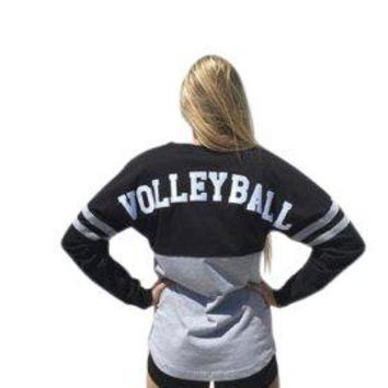 Pom Pom Volleyball Thick Cotton Oversized Jersey