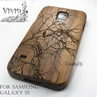 Wood Samsung Galaxy S5 case, Samsung Galaxy S4 wood case, Samsung Galaxy S4 wood case, Samsung Galaxy S3 case, Camera M9 Walnut wood Samsung