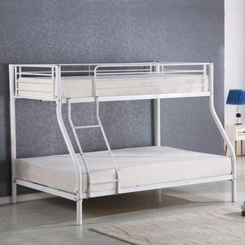 Twin Size Full Size Metal Bunk Bed for Kids