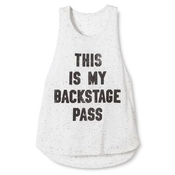 Backstage Pass Festival Tank