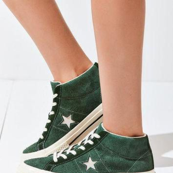 CREYUG7 Converse Cons One Star Pro Suede Mid Top Sneaker | Urban Outfitters