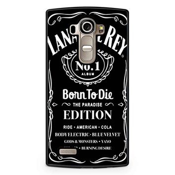 Lana Del Rey Born To Die Black LG G4 Case