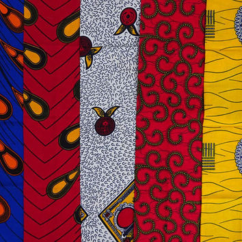 African fabrics /Fat quarter bundle/ African print /  Fat quarters fabric/ Ankara fabric/ Quilting fabric/ Craft supplies/ craft project