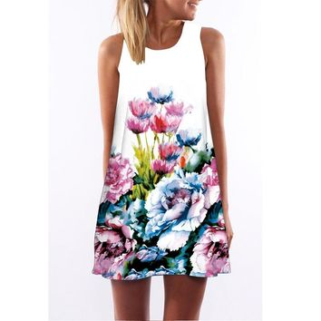 Sleeveless Amazon Hot Sale Dresses