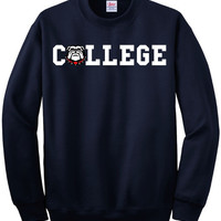 Georgia Bulldogs College Sweatshirt