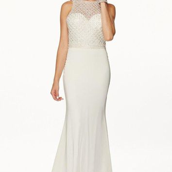informal ivory vow renewal wedding dress 105-649w
