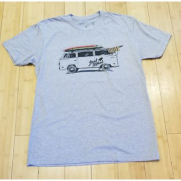 """Local Motion """"V Double You"""" Mens Dark Heather T-Shirt"""