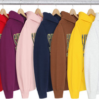 Supreme Paisley Fuck Em All Hooded Sweatshirt