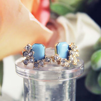Lake & Sky Stud Earrings