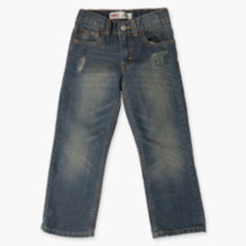 Boys' Levi's Little (4-7x) 514 Straight Fit Jeans - Blue - Kids