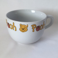 Disney Winnie the Pooh Honey Pot Mug Large Soup Coffee Cup