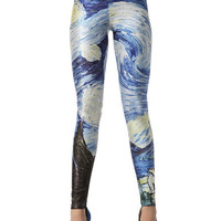 Harry Potter Starry Night Printed Leggings