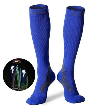Family Friends party Board game Unisex Knee High Sports Football Tube Soccer Socks Compression Running Socks Cycling Bowling Camping Hiking Sock 4 Colors AT_41_3