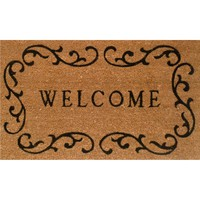 Wayfair Basics Welcome Doormat in Natural