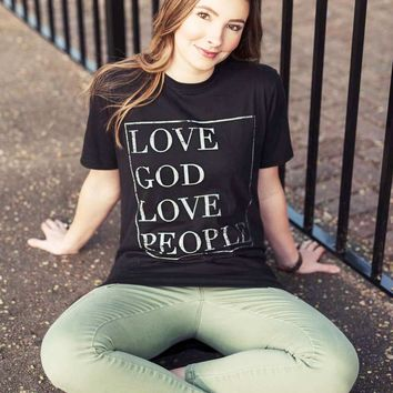 Love God Love People - longbody