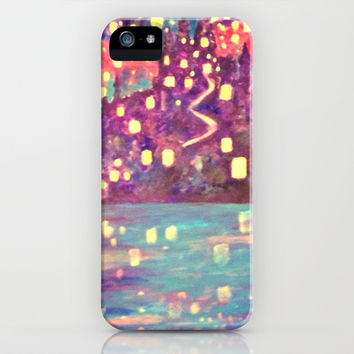 Lanterns iPhone & iPod Case by Jadie Miller